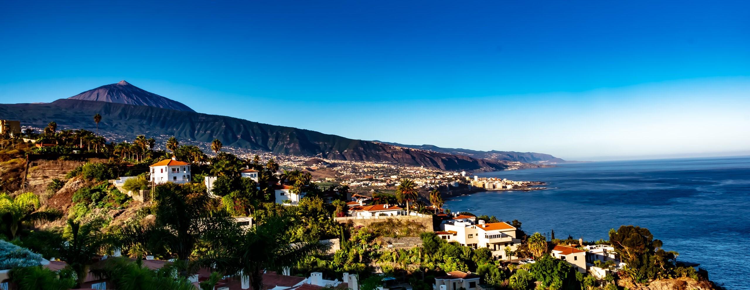 Teneryfa, krajobraz panorama